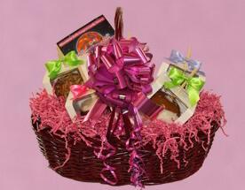 Caramel Apples Gift Basket