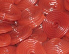 Red Licorice Wheels